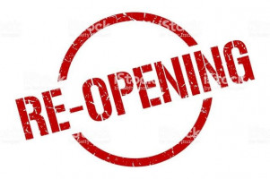 Reopening fully from Monday 19th April